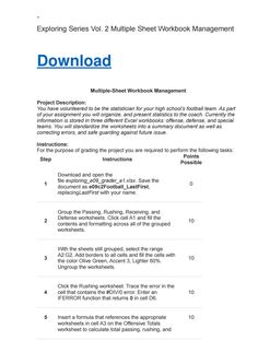Go access chapter 1 homework computersciencehomework pinterest exploring series vol 2 multiple sheet workbook management fandeluxe Images
