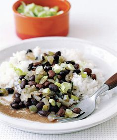 Black Beans and Rice | Eating an exclusively plant-based diet can be incredibly satisfying and tasty—especially with these hearty recipes.