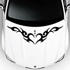 Fit Any Car Sticker Vinyl Decal Color Hood Anime Cars - Vinyl decals cartribal hearts decal vinylgraphichood car hoods decals and