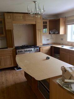 Stunning Oak kitchen with Granite worktops   Stunning Neptune ...