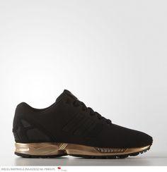 Buty Adidas Zx Flux S78977 #black #gold #adidas