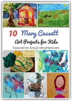 10 Mary Cassatt Art Projects for Kids Mary Cassatt's work focused on mothers and children, which is why kids will love learning about her with these simple Mary Cassatt Art Projects for Kids. Kids Art Class, Art Lessons For Kids, Art Lessons Elementary, Projects For Kids, Art For Kids, Preschool Art Lessons, Kunst Picasso, Picasso Art, Mary Cassatt Art