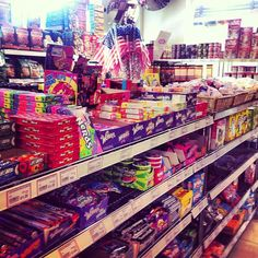 All the American candy/confectionary/savoury snacks you could ask for... in London! Partridges, Kings Road.