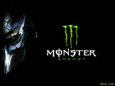 Wallpaper que eu fiz do melhor energetico do mundo! Wallpaper that I made the best energetic in the world! The Real Monster Energyi Motorcycle Quotes, Girl Motorcycle, Nitro Circus, Real Monsters, Graffiti Wallpaper, Dirtbikes, Monster Energy, Neon Signs, Deviantart