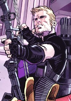 Clint Barton/Hawkeye in Avengers World #8
