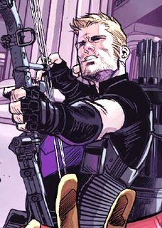 Clint Barton/Hawkeye in Avengers World #8