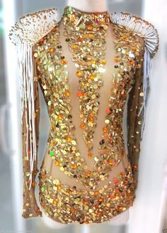 Jennifer Lopez Beyonce Sequin Nude Leotard Bodysuit XS-XL by DaNeeNa on Etsy https://www.etsy.com/listing/241799340/jennifer-lopez-beyonce-sequin-nude