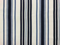 Traditional ticking fabric in a few stripes, softer in texture with a herringbone weave. Ticking Fabric, Closer To Nature, Ticks, Soft Furnishings, Stripes, Traditional, Architecture, Natural, Home Decor