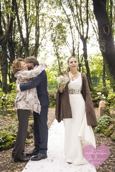Agnese & Nicola's wedding in Vaiano (Tuscany), Villa il Mulinaccio, Italy. I love this shot: it's a truly Italian moment! the mother of the bride steals a hug from the groom just after the ceremony. Lovely! #bride #groom #portrait #moment #wedding #ceremony #mother #tuscany #family #joy
