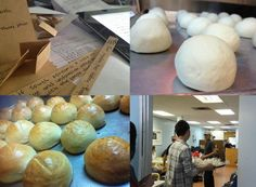 이벤트 참여자들이 전해 준, 희망의 집 식구들에게 보내는 메시지.    그 마음들만큼이나 따뜻한 빵들이 메시지를 품고, 마침내 외로운 이들에게 전해졌습니다. ^^!
