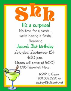 Birthday Party Invitation http://www.partyinvitationwording.org/ #partyinvitation #party #invite