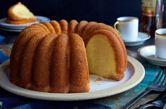 Best cake I've ever eaten! Replaced rum with Malibu rum with coconut liqueur and vanilla extract with almond extract. This ultra-moist cake soaked in rum and vanilla will have you dreaming of white sandy beaches at first bite. Food Cakes, Cupcake Cakes, Bundt Cakes, Cupcakes, Vanilla Pudding Mix, Vanilla Flavoring, Caribbean Rum Cake, Caribbean Recipes, Crunch