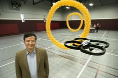Thought-controlled helicopter