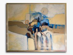 FRANK FERRANTE (USA) O/C Textured Abstract Painting of Fisherman Mid-Cent Modernhttp://www.ebay.com/itm/252287208019?ssPageName=STRK:MESELX:IT&_trksid=p3984.m1555.l2649