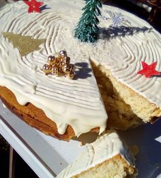 Vasilopita Cake, New Year's Cake, Sweet Home, Food And Drink, Pie, Sweets, Sugar, Cookies, Cheese