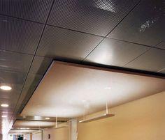 Sound Absorbing Ceiling Cloud Armstrong Metalldecken AG