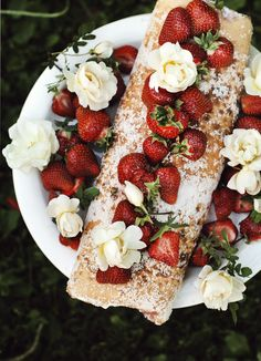 Finnish rolled cake with berries & yogurt-cream