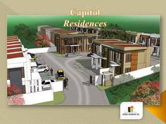 """CAPITOL RESIDENCES """"urban enclaves inc."""" CAPITOL RESIDENCES is the newest addition to the specialized pocket developments of URBAN ENCLAVES INC.. It is an exclusive subdivision with an Entrance Gate & is sercured with a Perimeter Wall Entrance Gates, New House Plans, Cebu, Townhouse, Philippines, Luxury Homes, New Homes, Houses, Fire"""