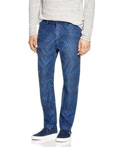 Scotch & Soda Chevron Print Regular Fit Chino Pants