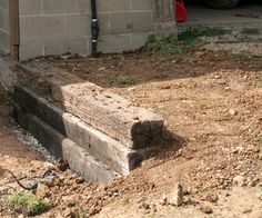 How to Build a Railroad Tie Retaining Wall | Instructables