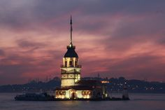 A Mystery of Istanbul: Maiden's Tower - http://dinnercruisesistanbul.com/mystery-istanbul-maidens-tower/