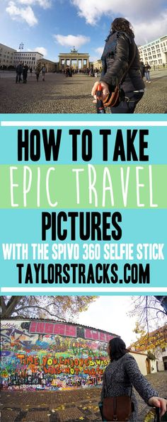 Want to learn how to take better travel pictures? I share my favourite tool and my top tips for taking epic travel shots that your friends will be jealous of. #photography  ******************************** Selfie stick | Selfie stick photos | Selfie stick ideas | GoPro accessories | Spivo 360 | GoPro selfie stick | Travel photos | Travel pictures | Travel photography