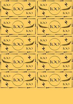 Harry Potter Monopoly Money - Album on Imgur
