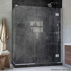 Dreamline Unidoor-X 47.5-In To 47.5-In Frameless Hinged Shower Door E1
