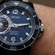 Seiko Sportura Kinetic Direct Drive SRG017 Watch Hands-On