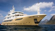 Explore Southeast Asia in this 170-foot yacht decked out with custom Fendi furniture >> http://robbreport.com/boating-yachting/superyacht-charter-explore-southeast-asia-aboard-jade-959?utm_channel=social&utm_content=buffer860df&utm_medium=social&utm_source=pinterest.com&utm_campaign=buffer