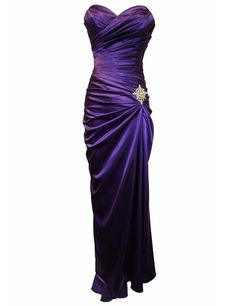 Sheath  Purple Mother Of The Bride Dress, Sweetheart Long Prom Party Dresses with Pleats Beading, New Arrival Mother Of The Bride Dress