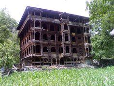 Traditional Kashmiri House in Leepa Valley