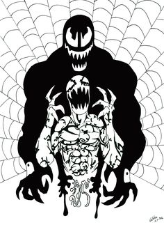 Web of symbiotes by on DeviantArt Scribble, Darth Vader, Batman, Deviantart, Superhero, Drawings, Fictional Characters, Sketches, Doodles