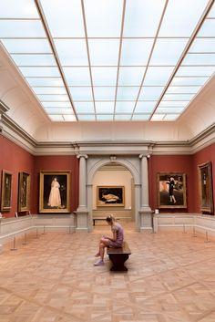 Art museum venue paid off Museum Logo, Museum Identity, Museum Branding, Museum Poster, Louvre Museum, Hermitage Museum, Museum Exhibition Design, Design Museum, Brisbane