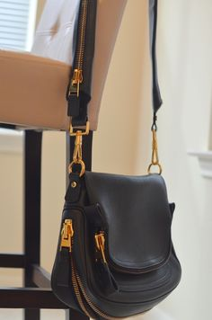 Tom Ford flap over zip bag - as seen on Jennifer Aniston