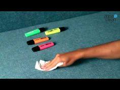 Škvrny od zvýrazňovača - AquaClean kolekcia - YouTube