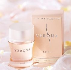 #Verona perfume contains scents of jasmine, lily and freesia dry down to musk and vanilla, an appealing aroma.