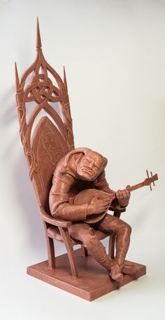 king of fools   #sculpture #clay #art #sculpting #wood #carving #modeling #model #quazimodo #kingoffools #moulding