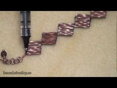 How to Do Ladder Stitch Bead Weaving. - Ladder stitch is a basic off loom bead weaving stitch that is ideal for beginners. It forms the foundation of more advanced bead stitches, such as herringbone and brick stitch. Beading Patterns Free, Weaving Patterns, Jewelry Making Tutorials, Beading Tutorials, Beading Projects, Beaded Bracelets Tutorial, Ladder Stitch, Bugle Beads, Beads And Wire