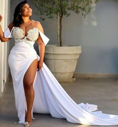 Ceremony Dresses, Bridal Dresses, Wedding Goals, Wedding Ideas, Couture Sewing, Aso Ebi, Bridal Collection, Plus Size Dresses, Sweet September