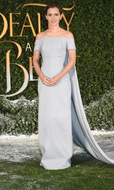 Emma Watson - Beauty and the Beast launch at Spencer House, London. Emma Watson Wears Fairytale Dress at Beauty & the Beast gif Pinned by @lilyriverside