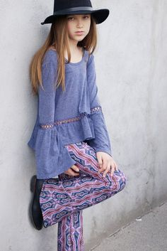 Go back to school with easy grab-and-go styles made to style all year long! The Indigo Knit Cutout Trim Top is the perfect versatile top for every season! Match with bell bottoms, shorts, denim pants, and skirts for a variety of looks that will be perfect for Spring, Summer, Fall, and Winter! Shop now: https://trulymetoo.com/collections/spring-transition/products/indigo-knit-cutout-trim-top