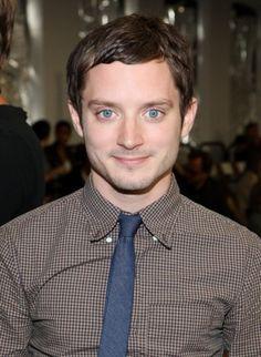 Elijah Wood. Seriously! Look at those eyes!:)
