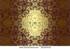 Brown golden abstract   background , with   painted  grunge background texture for  design . - stock photo