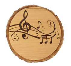 Cute custom woodburned coasters Set of 4 by WhimsyByKelly on Etsy