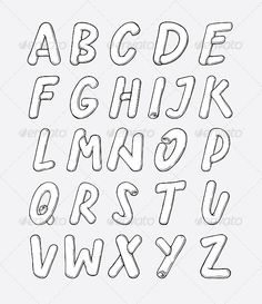 Bubble Alphabet #GraphicRiver Bubble styled, hand-drawn vector alphabet. Every letter is its own separate group. Created: 1 December 13 Graphics Files Included: JPG Image #Vector EPS Layered: No Minimum Adobe CS Version: CS Tags abc #abstract #alphabet #art #cartoon #character #collection #concept #creative #design #english #font #graphic #icon #illustration #label #language #learning #letter #set #stylish #symbol #text #textured #type #typeface #typeset #typographic #typography #uppercase