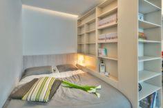 Romantikus hálófülke két személyre - egy főnek luxuskényelmet szolgáltat az ágy, de a plusz helyen akár egy vendéget is elszállásolhatunk :)