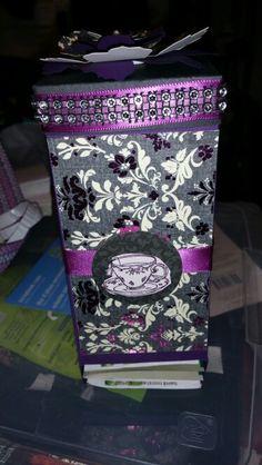 1st attempt of tea bag dispenser