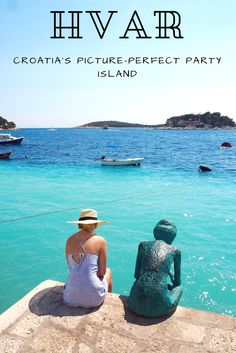 Why you need to visit Hvar in Croatia. This picture-perfect party island is the jewel of the Adriatic. Travel | Croatia trip | Travel inspiration | Dalmatian Islands