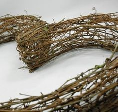 Grapevine Heart Wreath 26in